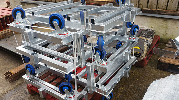 Bespoke Product Fabrication Services in Northern Ireland - EF Engineering