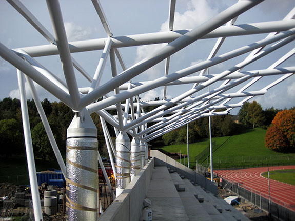 Structural Steelwork Services in Northern Ireland - EF Engineering