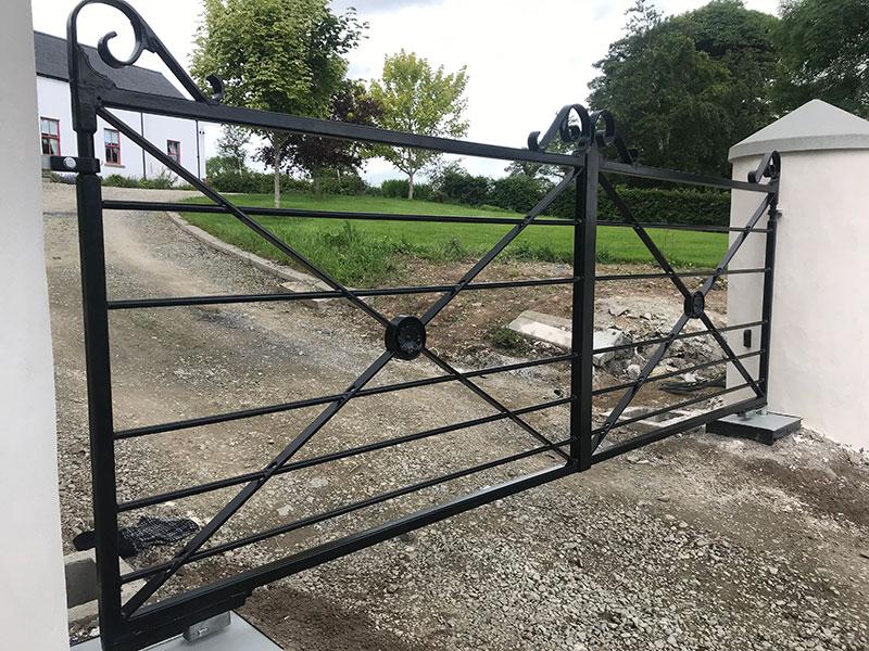 Gates and Railings Provider in Banbridge, Northern Ireland - EF Engineering