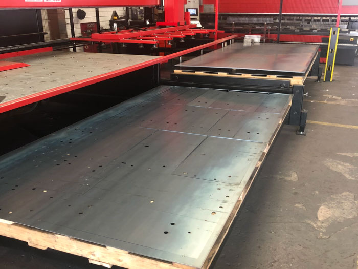 Laser Cutting Services in Northern Ireland - EF Engineering