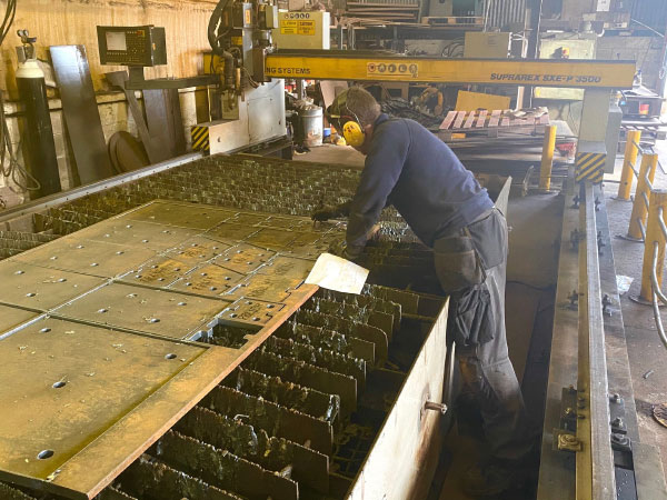 Plasma Cutting Services in Banbridge, Northern Ireland - EF Engineering