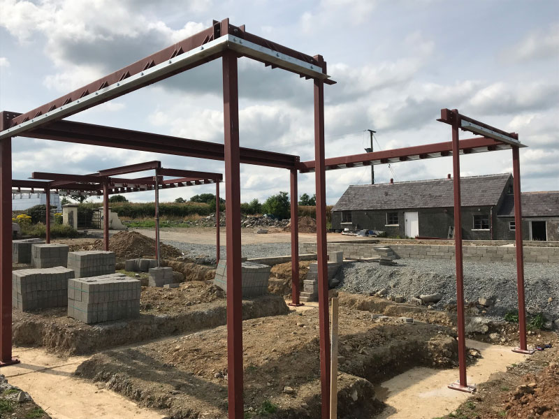 Structural Steelwork Services in Banbridge, Northern Ireland - EF Engineering